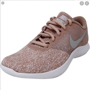 NIKE Women's Flex Contact Shoes, Particle Pink